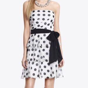 🆕 White House Black Market polka dress